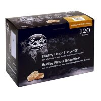 Брикеты Bradley Smoker 120 штук (Whiskey Oak)